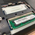 【ThinkPad E550】メモリ増設方法